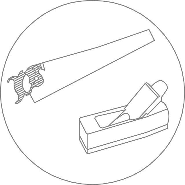 Icono carpintería